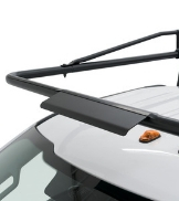WEATHER GUARD Steel Truck Rack Front View