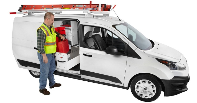WEATHER GUARD Ford Transit Pro Van Packages provide a complete interior solution