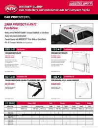 WEATHER GUARD Cab Protectors Flyer