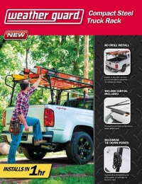 WEATHER GUARD Compact Steel Truck Rack Flyer