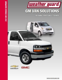 WEATHER GUARD GM Van Solutions Brochure