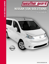 WEATHER GUARD Nissan Van Solutions Brochure