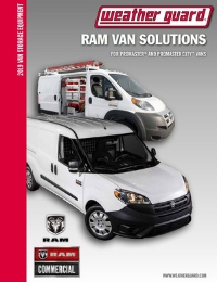 WEATHER GUARD RAM Commercial Van Solutions Brochure