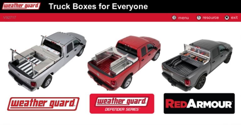 WEATHER GUARD Free Online Training - Truck Boxes 101